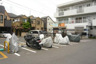【外観】篠バイク駐車場