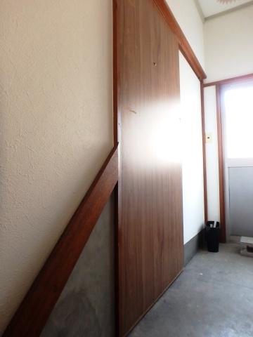 2階居室の玄関部分