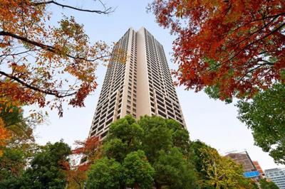 【外観】桜宮リバーシティ・ウォータータワープラザ