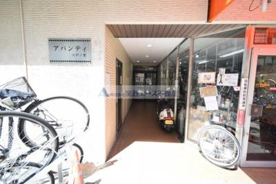 【エントランス】アバンティ八戸ノ里