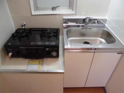第78オーナーズビルのコンパクトなキッチンで掃除もラクラク☆