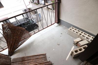 【バルコニー】玉櫛テラスハウス4戸1 スモッティー阪急茨木店