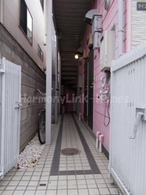 ライフピアポピンズの廊下