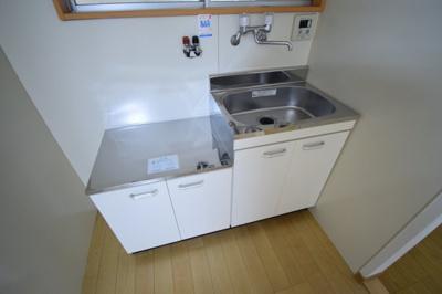 【キッチン】旗塚3アパート