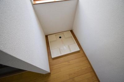 【洗面所】旗塚3アパート