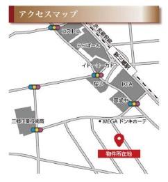 案内図 三郷新築ナビで検索