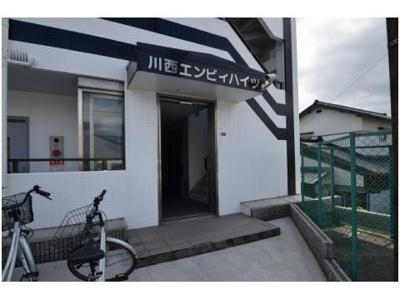 【駐車場】川西エンビイハイツ 株式会社Roots