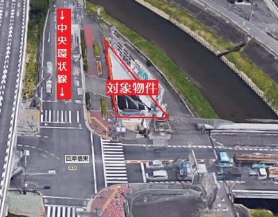 【前面道路含む現地写真】東大阪市若江北町3丁目 売地
