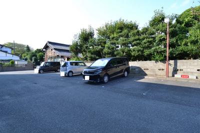 【駐車場】大みかガーデンハウス