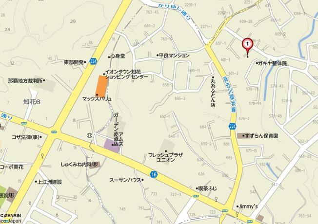 【地図】カーサスペリオル