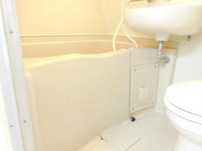 【浴室】ハレー高槻1