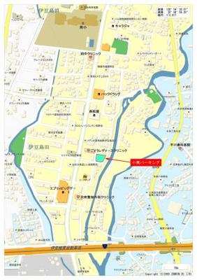 【地図】小南パーキング
