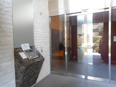 【エントランス】グランスイート天王寺舟橋タワー