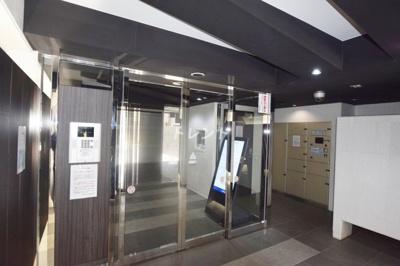 【エントランス】ステージグランデ神楽坂
