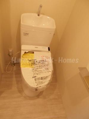 フリービング南千住の清潔感のあるトイレです☆