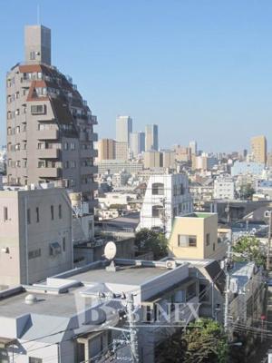 メイツ新宿なつめ坂の展望です