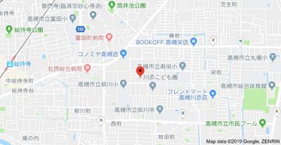 【地図】栄町薮内貸家① 株式会社Roots