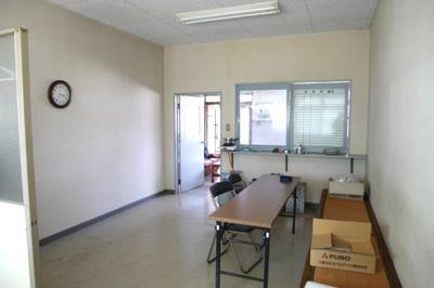 事務所棟2階 休憩室