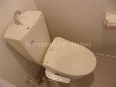 NYC北千住のゆったりとした空間のトイレです