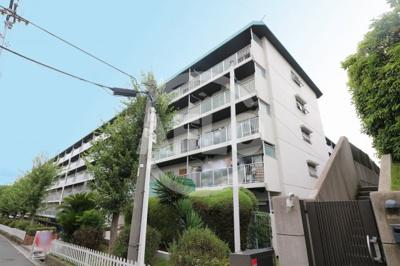 【外観】帝塚山グリーンハイツ B棟5号棟