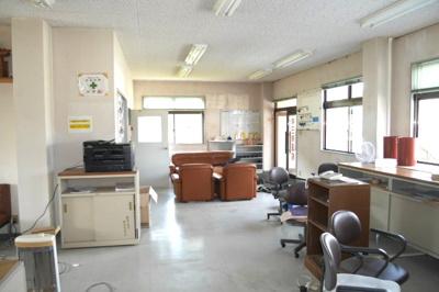 事務所棟2階 内部