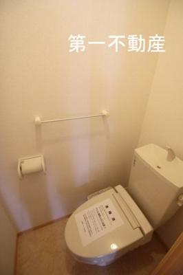 【トイレ】ウィルヴェスティージ 伍番館