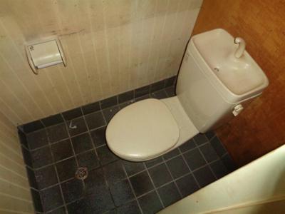 【トイレ】駒川4丁目角店舗