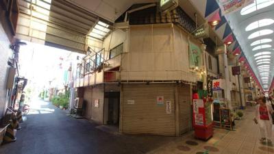 【外観】駒川4丁目角店舗