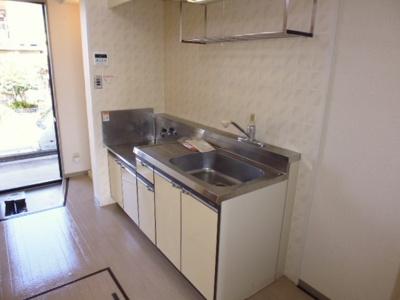 【キッチン】レインボーハイツB