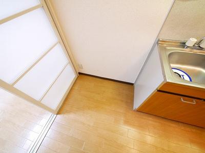 冷蔵庫スペースです
