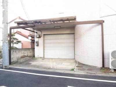 【駐車場】足立区鹿浜 環七通り沿い準工業地域角地空室ビル