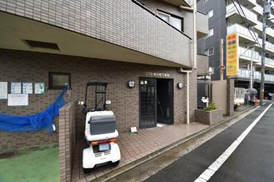 【エントランス】リブゼ横浜南弐番館