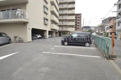 【駐車場】福島スカイハイツ