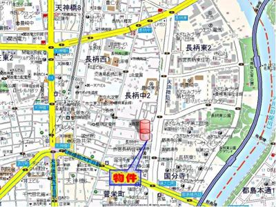 【地図】ノス・ダルジョン