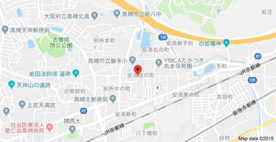 【地図】磐手ハイツ (株)Roots
