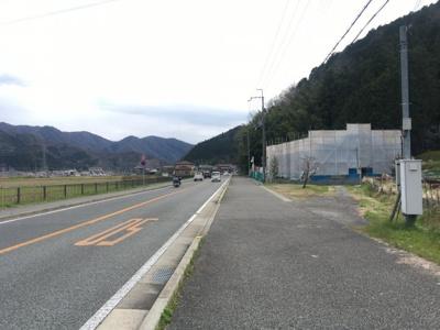 【前面道路含む現地写真】丹波篠山市犬飼 売土地
