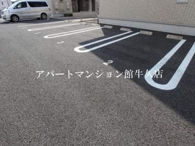 【駐車場】デュオセレッソA