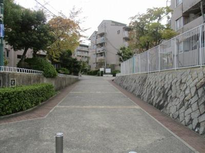 【エントランス】名谷竜が台東住宅14号棟