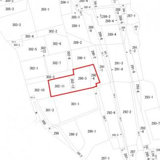 【土地図】沼田市岩本町 住宅用地