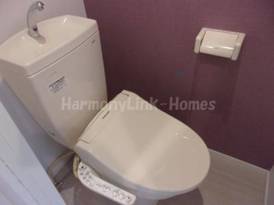 ハーモニーテラス桜台のトイレもきれいです☆