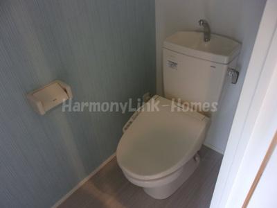 サヴォイ渋谷本町のゆったりとした空間のトイレです☆