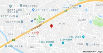 【地図】中井マンション