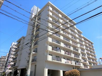 【現地写真】 鉄骨鉄筋コンクリート造の9階建♪ 陽当たりに良いマンションとなっております♪