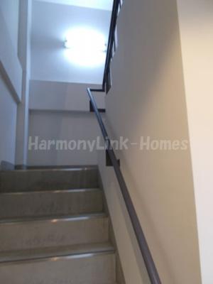 ガーデンヒルズの階段