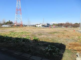 【外観】坂戸市青木 建築条件なし売地 東武東上線『若葉駅』より3.8km 【三芳野小学区】
