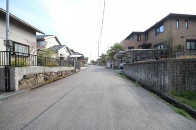 【周辺】大津市花園町21 土地分譲