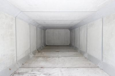 2019年6月撮影、駐車スペース内部