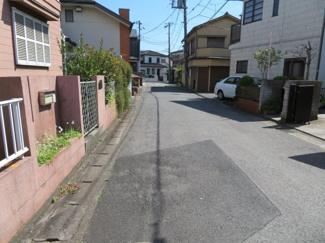 千葉市中央区道場南 土地 現地周辺は広めの道幅なので安心して車も運転できます♪
