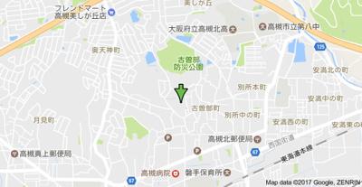【地図】大原マンション (株)Roots