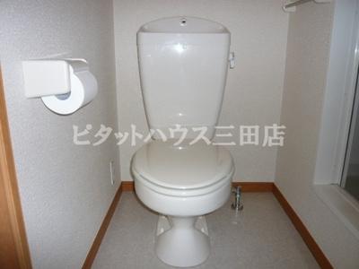 【トイレ】レオパレスMaeda2
